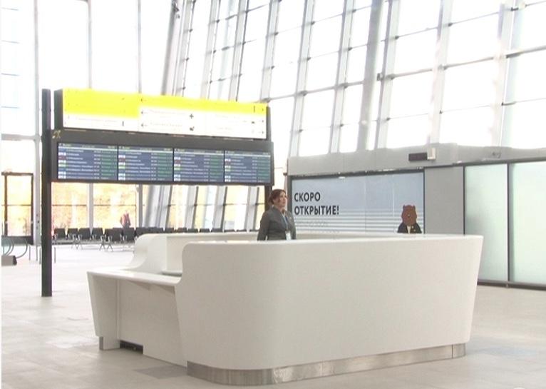 Большой и светлый: в октябре в Хабаровске для пассажиров откроется новый терминал внутренних авиалиний
