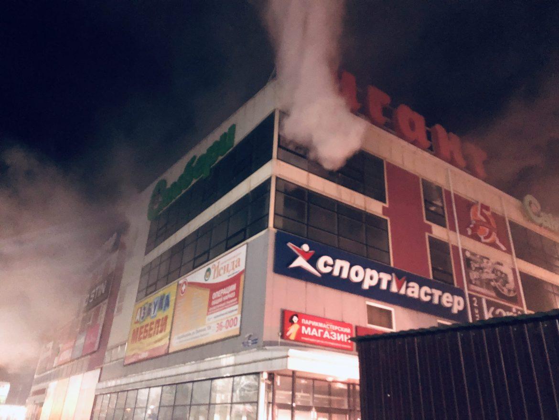 «Самбери» в ТРЦ «Гигант» активно восстанавливается к открытию после пожара