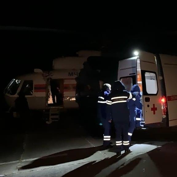 Роженицу с младенцем эвакуировали из ЕАО в Хабаровск (ФОТО и ВИДЕО)