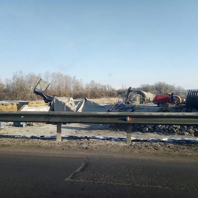 Ремонтирующийся мост на трассе «Амур» в ЕАО стал местом смертельного ДТП