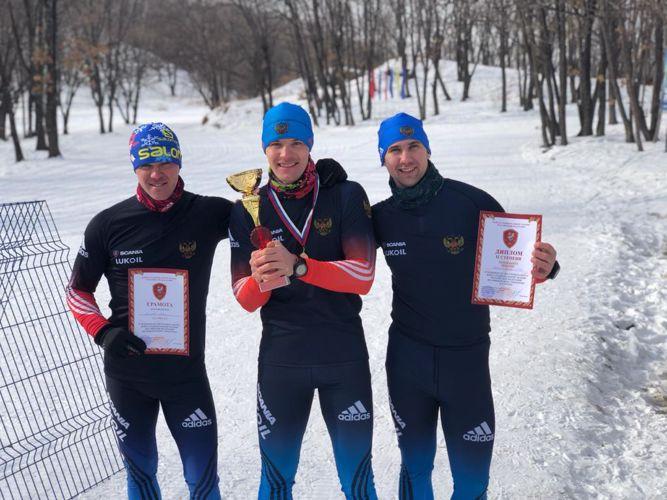 Росгвардеец из ЕАО за пять месяцев освоил лыжную гонку и победил в окружных соревнованиях по офицерскому троеборью