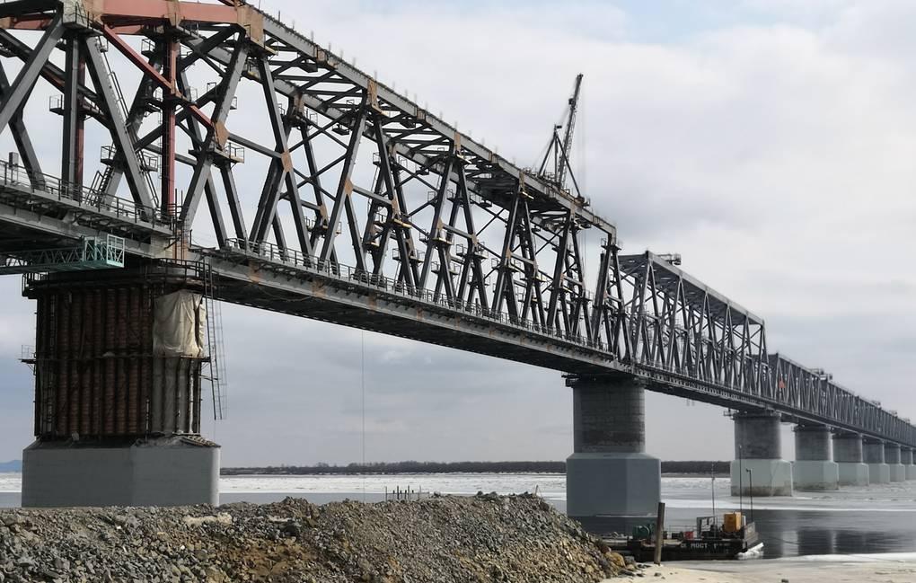 Завершение строительства железнодорожного моста Нижнеленинское – Тунцзян опять отложили