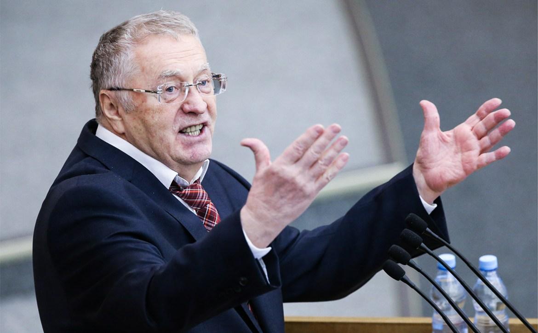 Жириновский предложил провести досрочные парламентские выборы в России