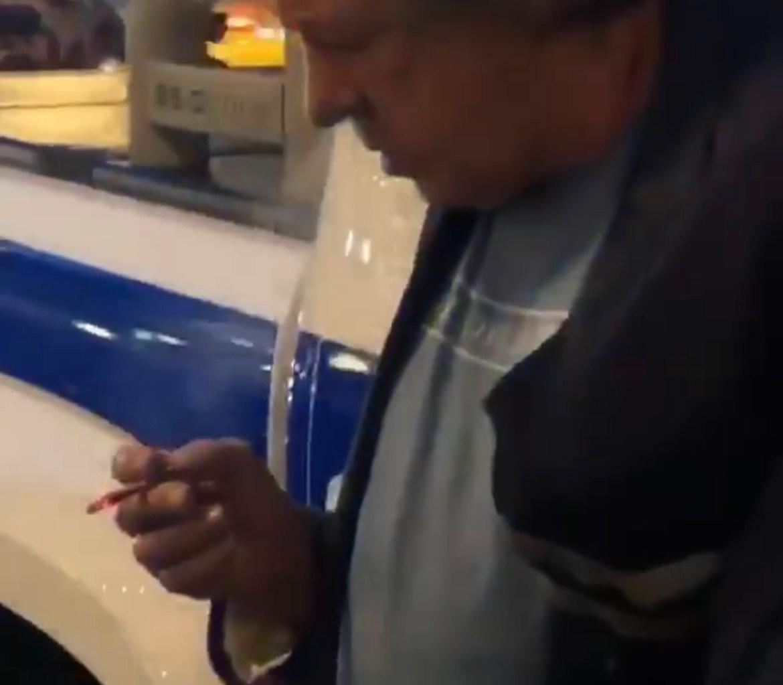 Пьяный актер Михаил Ефремов устроил ДТП в центре Москвы (18+ ВИДЕО)
