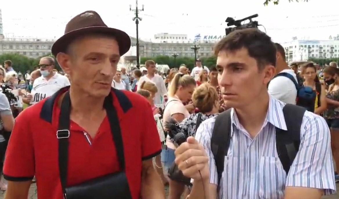 В Хабаровске начали выкатывать административные протоколы «зажигалкам» протеста