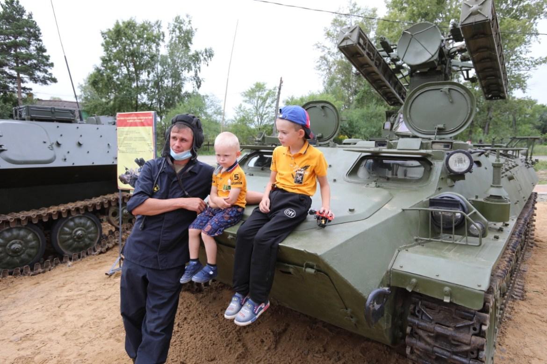 В селе Бабстово Ленинского района ЕАО развернута площадка в рамках форума «Армия-2020»