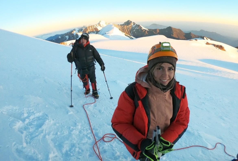 «Вдох-выдох, шаг, ещё один»: биробиджанка Анастасия Мазина рассказала о восхождении на гору Казбек