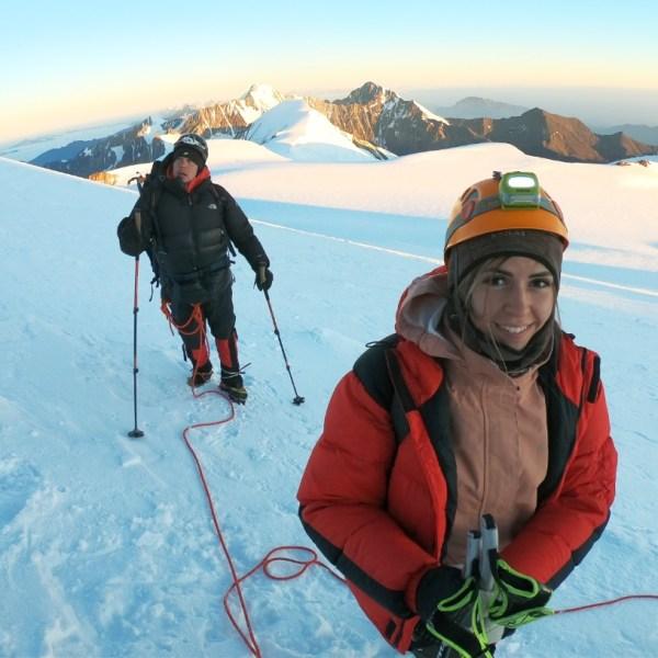 """""""Вдох-выдох, шаг, ещё один"""": биробиджанка Анастасия Мазина рассказала о восхождении на гору Казбек"""