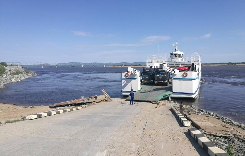 Пропуск грузов в пункте пропуска «Нижнеленинское» приостановлен из-за подъема Амура