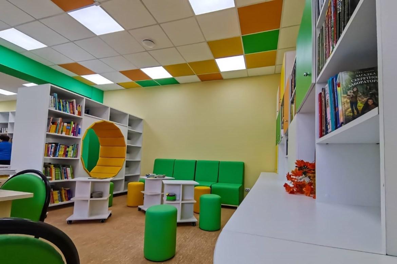 В микрорайоне Биробиджан-2 к открытию готовится обновленная библиотека