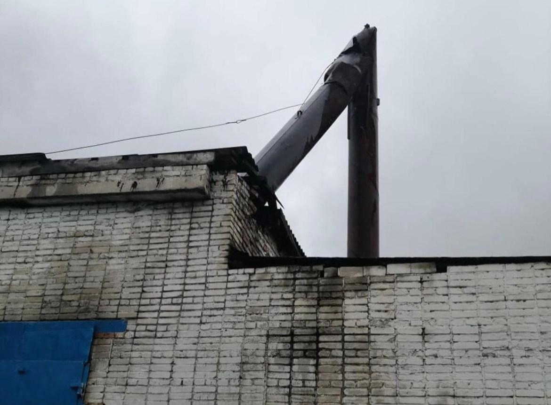 Подготовка к зиме в разгаре: на котельной в Ленинском районе ЕАО рухнула дымовая труба