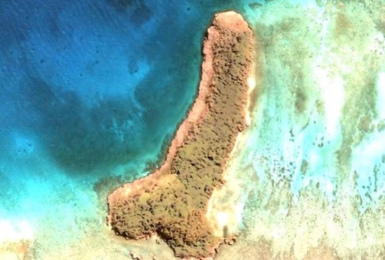 Остров в виде перевёрнутой буквы «Y» обнаружен в Тихом океане
