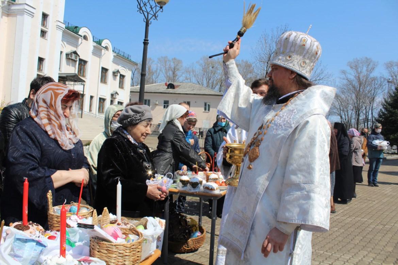 «Христос Воскресе!»: Пасхальное послание Архиепископа Биробиджанского и Кульдурского Ефрема