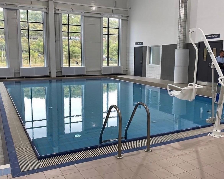 На деньги «Газпрома»  в Облучье построили и открыли физкультурный центр с бассейнами