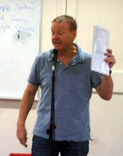 Brother Nige reads the Riot act