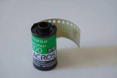 35フィルムACROS