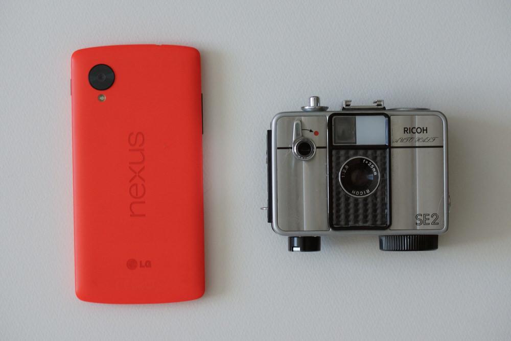 Nexus5とAutoHalf