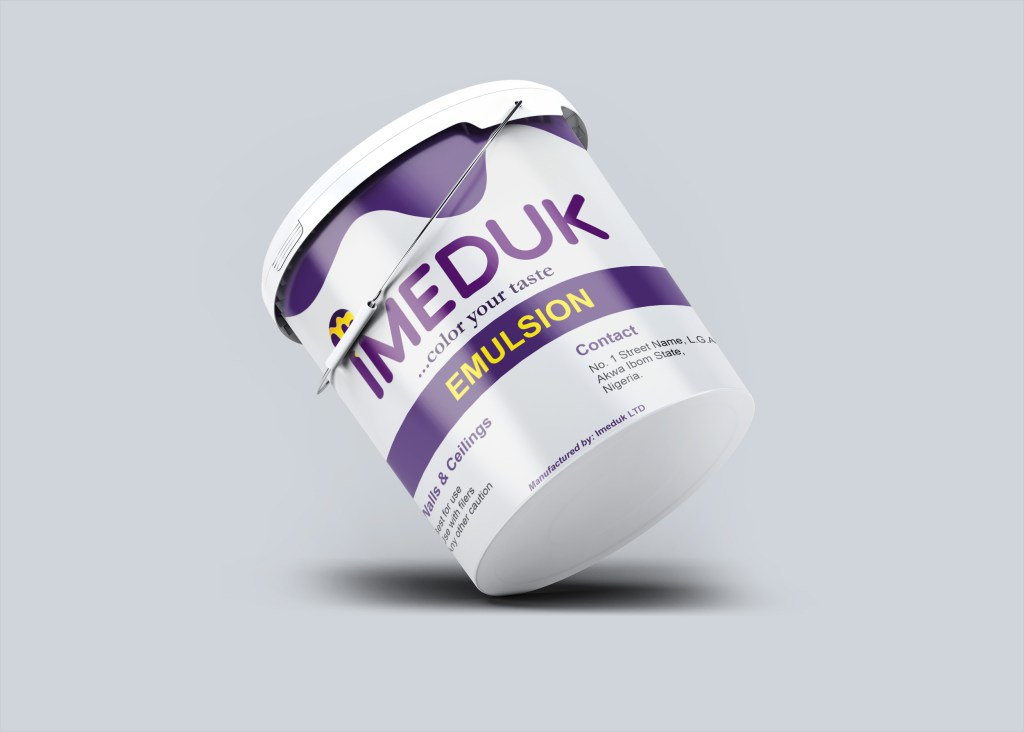 Product Design for Imeduk Paint