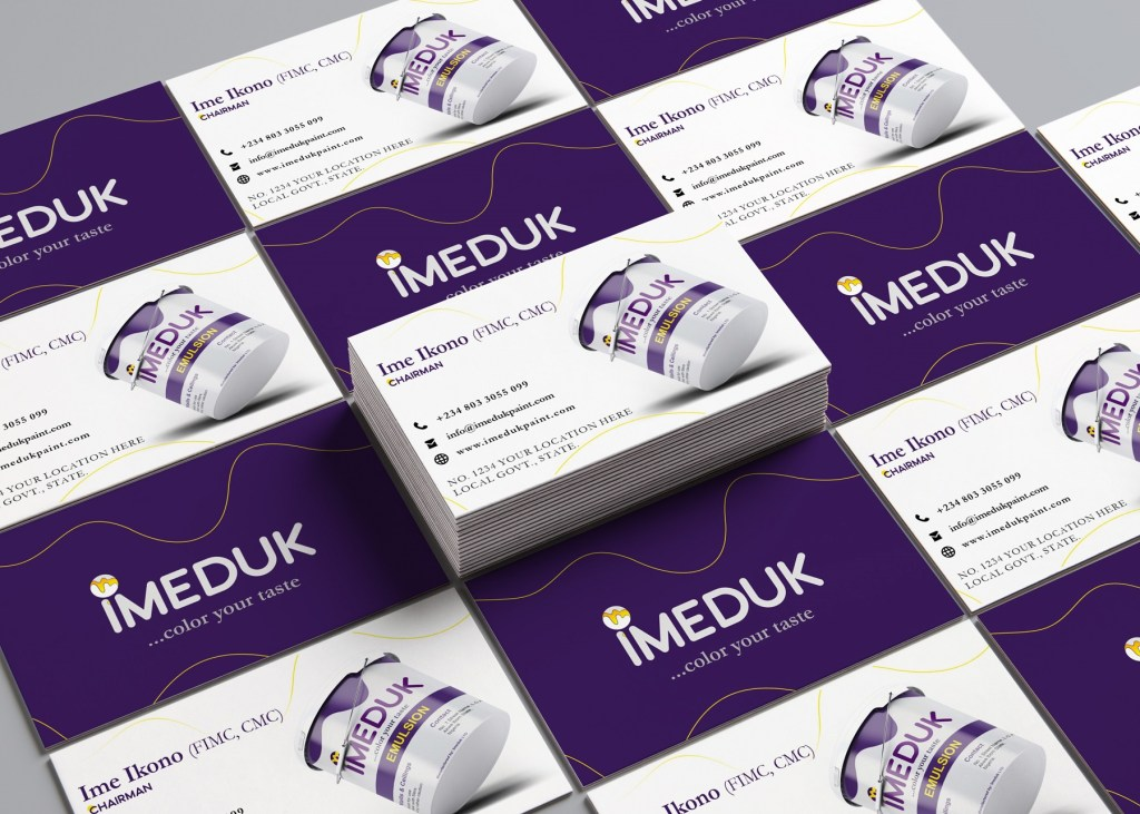Brand Assets Development for Imeduk Paint