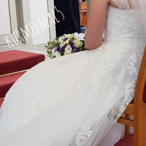 Hochzeit, Hochzeitskleid, Brautstrauß