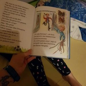 Lesen, Buch, Ponny