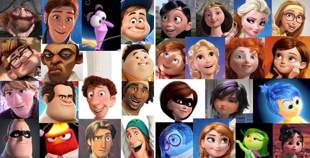 Disney Character Personalities Female