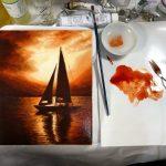 【油絵で風景画】初心者向けに簡単な技法や描き方を解説