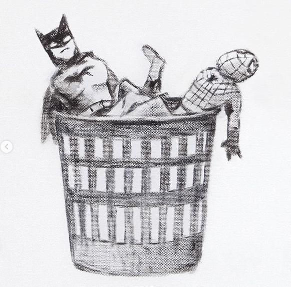Banksy: Game Changer バットマン&スパイダーマン