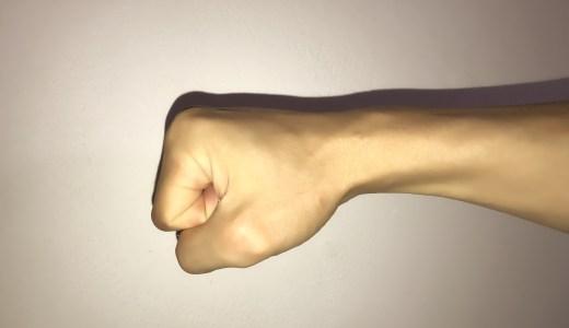 カンフーによくある3つの手のかたち(手型)