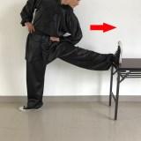 【ストレッチ】足のベーシックカンフーストレッチその2(側圧腿)