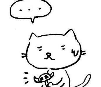 〈4コママンガ〉2019年 干支に対する猫のひそかな野望