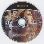 xbox shenmue ii disc