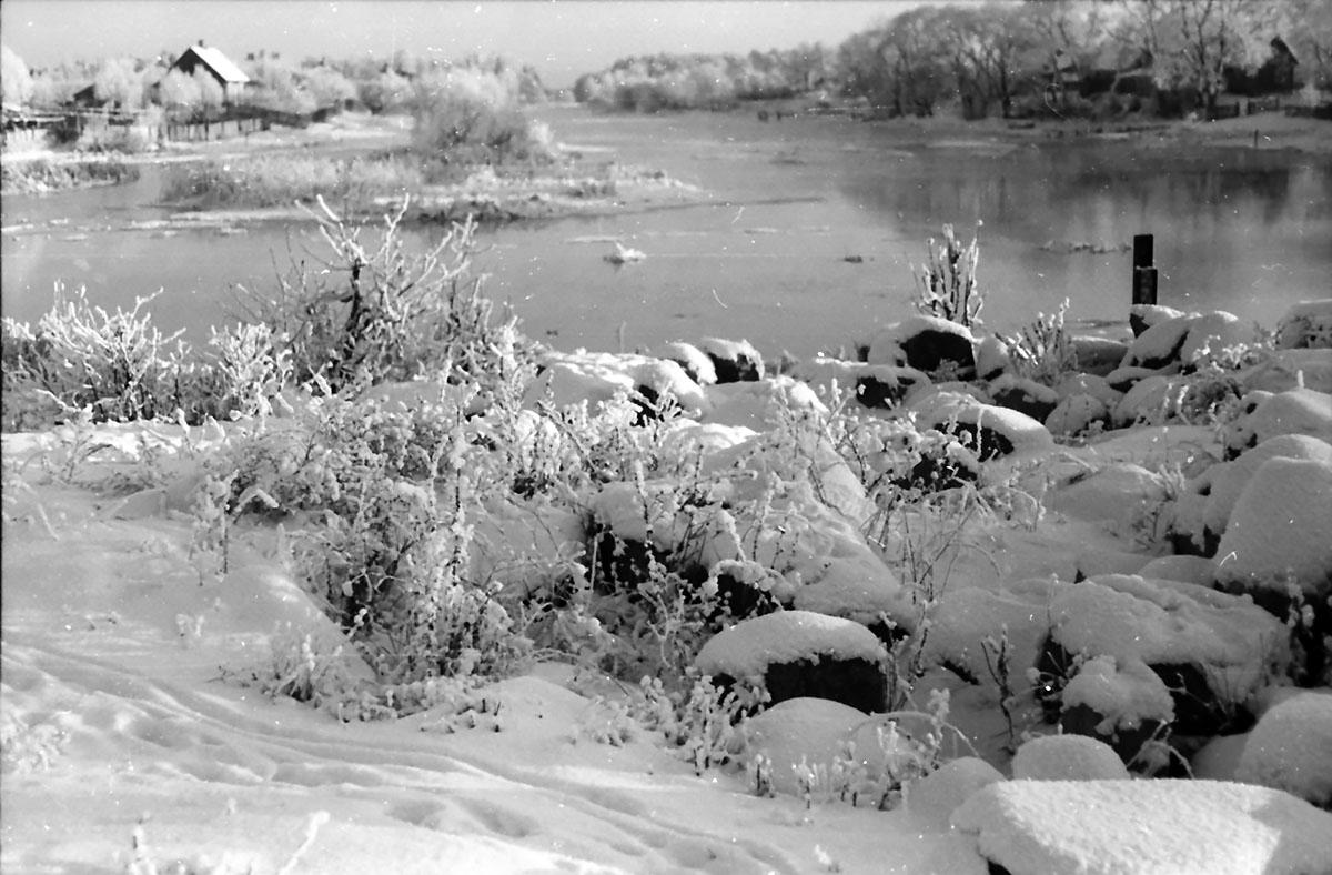 Uroki zimy nad Nettą i kanałem Bystrym