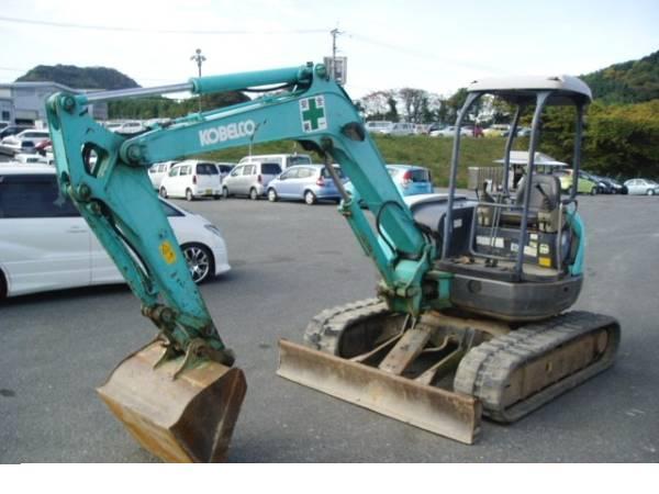 #2003 #kobelco #mini #excavator #sk40sr #for #sale #japan
