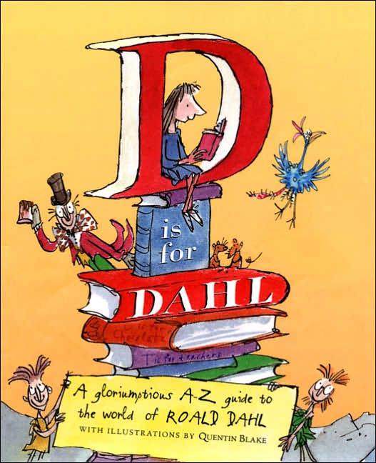 D is for Dahl omslag