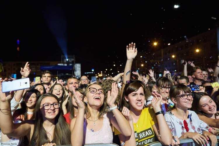 У День Незалежності в Івано-Франківську відгримів концерт Pianoboy 3