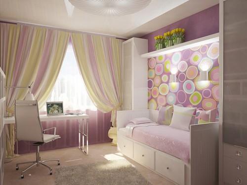 дизайн комнаты подростка девочки 1