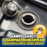 GAWAT GAN ! Membiarkan Tangki Bensin Kosong Itu punya 6 Dampak Mengerikan Untuk Motormu.
