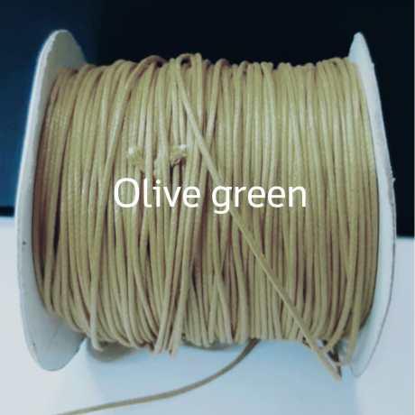 Tali kalung olive green