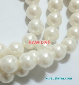 Mutiara imitasi broken white 10 mm