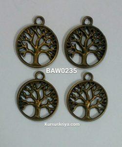 Liontin tree of life bronze
