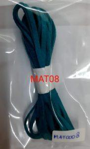 Tali flat suede imitasi peacock blue