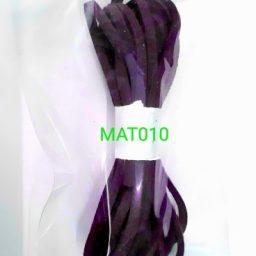 Tali flat suede imitasi red violet