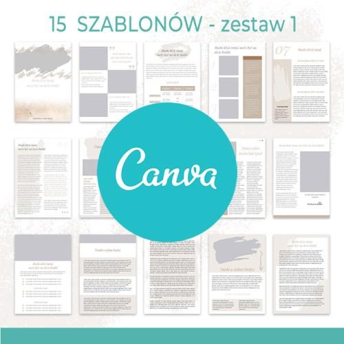 ebook z instrukcją + szablony na Canve (Zestaw 1)