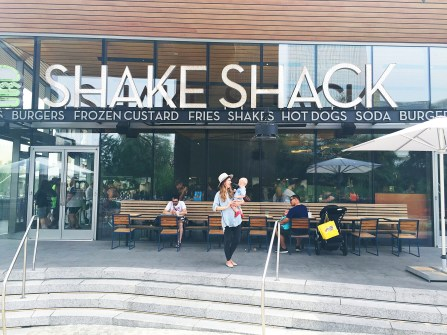 Shake Shack during our day trip to Vegas