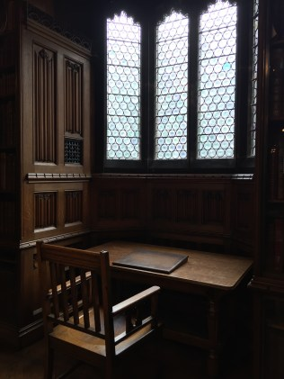 At the John Rylands Library in Manchester, England.