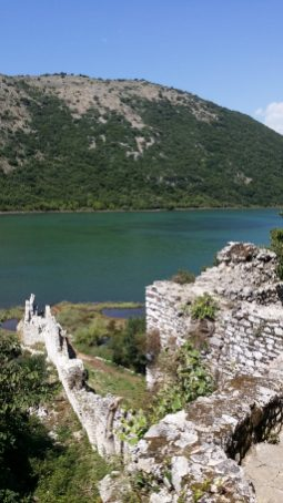 Buthrotum, where the ancient Greek and Roman left their marks, in Butrint, Albania.