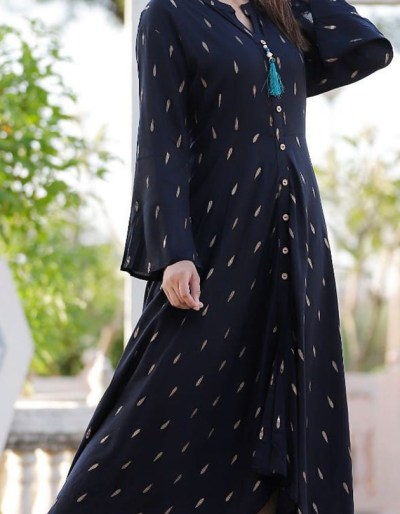 Slit Kurti with casual front