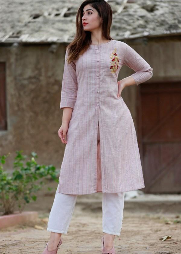 1 south cotton kurti pant