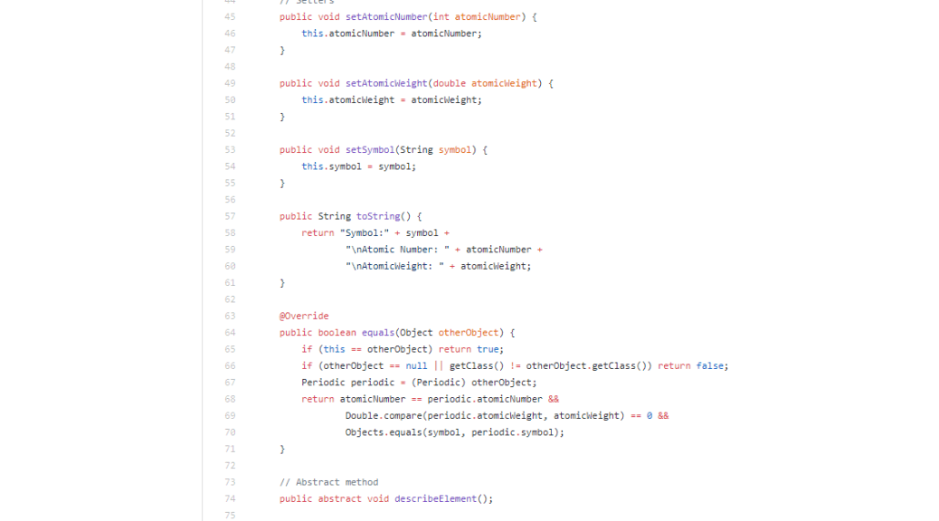 Screenshot of the code - Kurt Kaiser